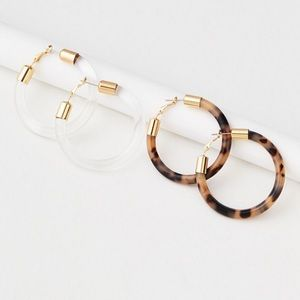 Hoop Earrings 2-Pack